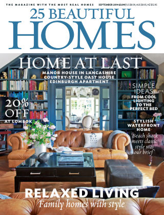 25 Beautiful Homes September 2014