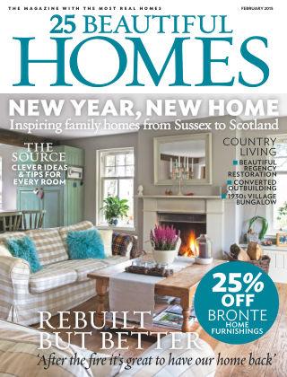25 Beautiful Homes February 2015