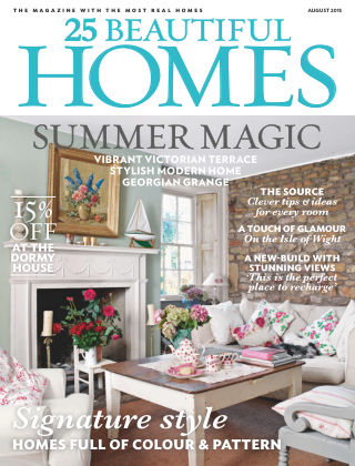 25 Beautiful Homes August 2015