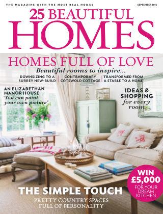 25 Beautiful Homes September 2015