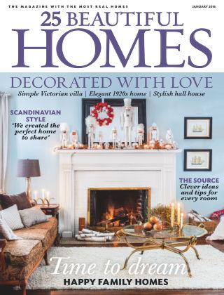 25 Beautiful Homes January 2016