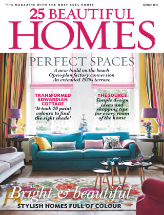 25 Beautiful Homes March 2016