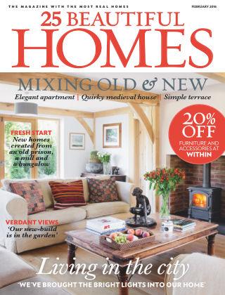 25 Beautiful Homes February 2016