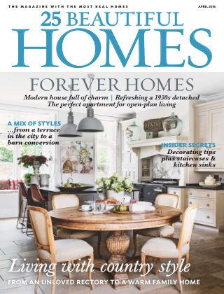 25 Beautiful Homes April 2016