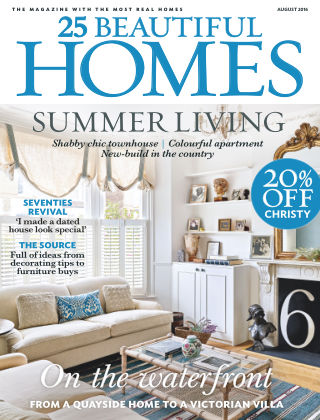 25 Beautiful Homes August 2016