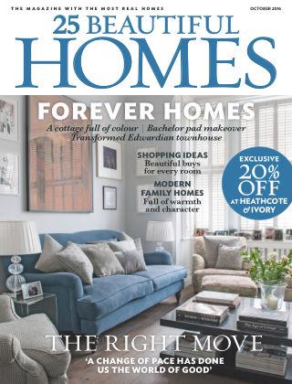 25 Beautiful Homes October 2016