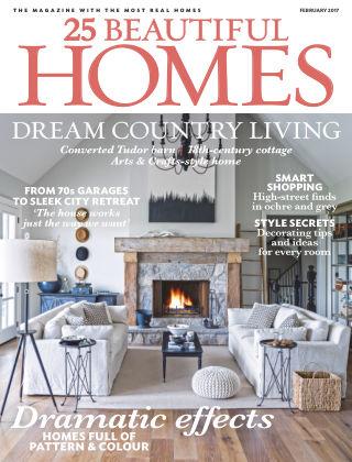 25 Beautiful Homes February 2017