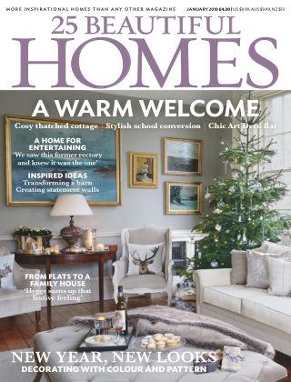 25 Beautiful Homes Jan 2018