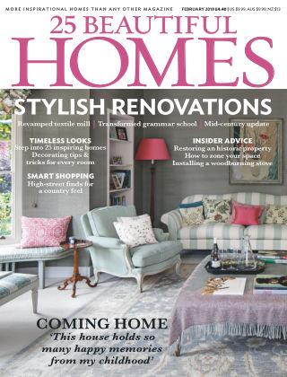25 Beautiful Homes Feb 2018