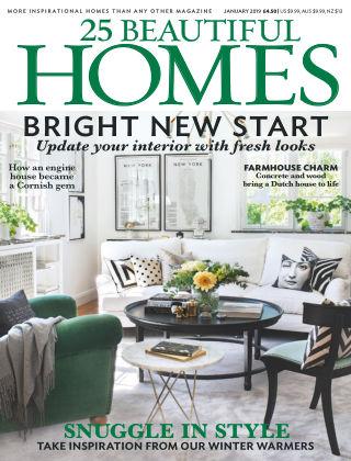 25 Beautiful Homes Jan 2019