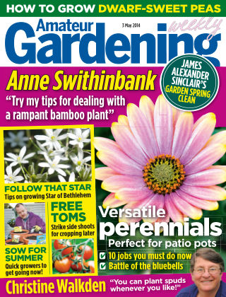 Amateur Gardening 3rd May 2014