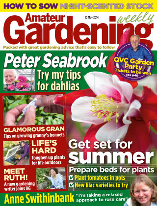 Amateur Gardening 10th May 2014