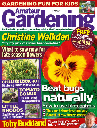 Amateur Gardening 24th May 2014