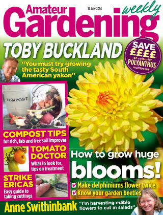 Amateur Gardening 12th July  2014
