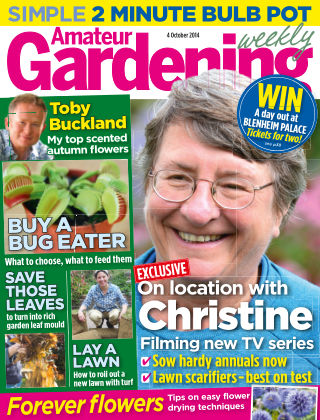 Amateur Gardening 4th October 2014