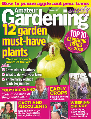 Amateur Gardening 3rd January 2015