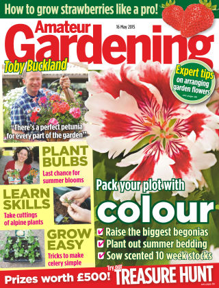 Amateur Gardening 16th May 2015