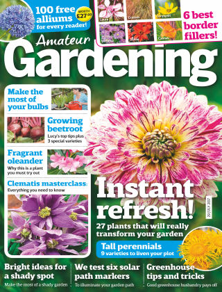 Amateur Gardening 29th July 2017
