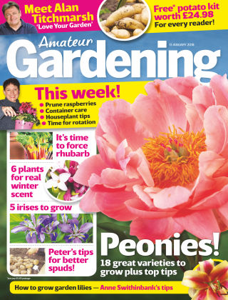 Amateur Gardening 9th January 2018