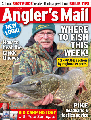 Angler's Mail 11 March 2014