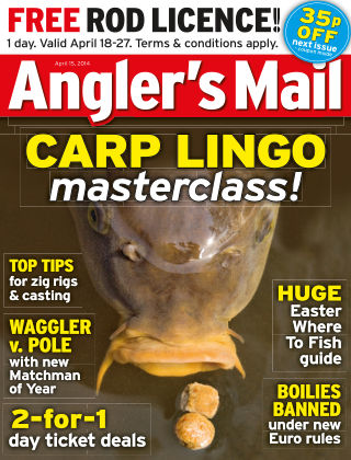 Angler's Mail 15th April 2014