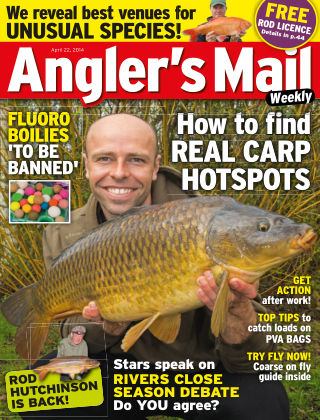 Angler's Mail 22nd April 2014