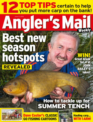 Angler's Mail 17th June 2014