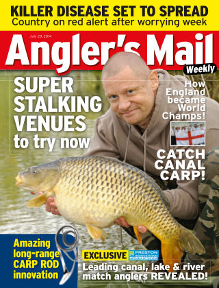 Angler's Mail 29th July 2014