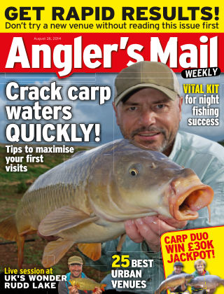 Angler's Mail 26th August 2014