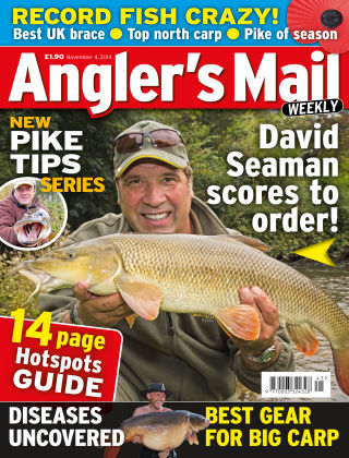 Angler's Mail 4th November 2014
