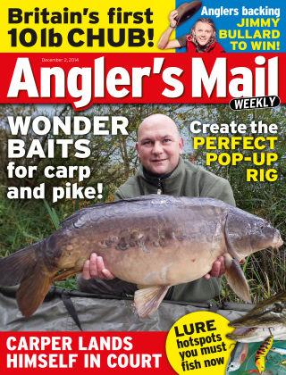 Angler's Mail 2nd December 2014