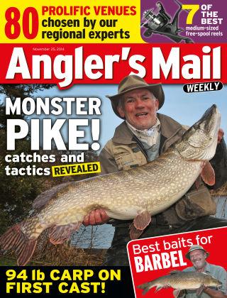 Angler's Mail 25th November 2014