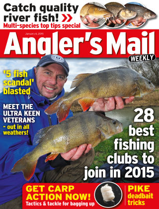Angler's Mail 6th January 2015