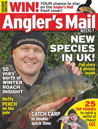 Angler's Mail 27th January 2015