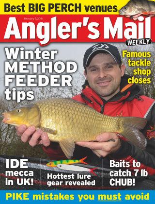 Angler's Mail 3rd February 2015