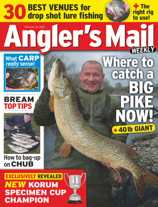 Angler's Mail 24th February 2015