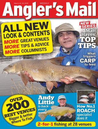 Angler's Mail 10th March 2015