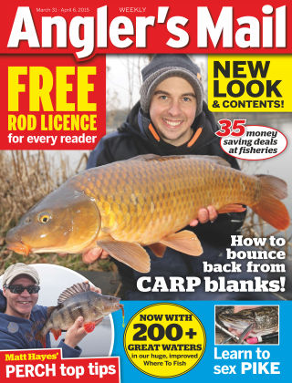 Angler's Mail 31st March 2015