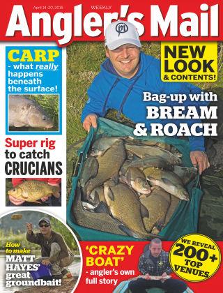 Angler's Mail 14th April 2015