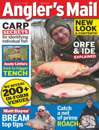 Angler's Mail 21st April 2015