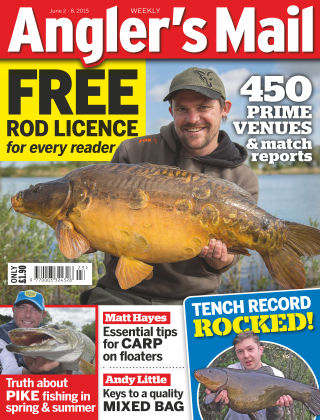 Angler's Mail 02nd June 2015