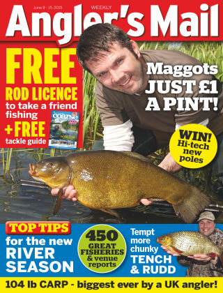 Angler's Mail 09th June 2015