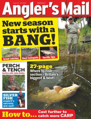 Angler's Mail 23rd June 2015