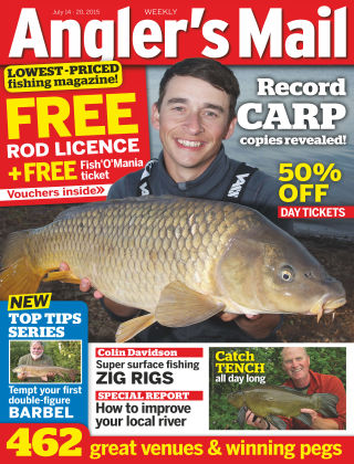 Angler's Mail 14th July 2015