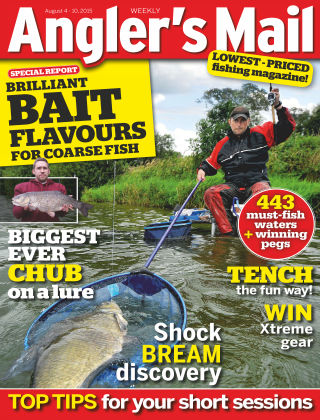 Angler's Mail 04th August 2015