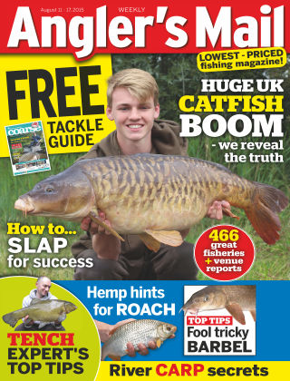 Angler's Mail 11th August 2015