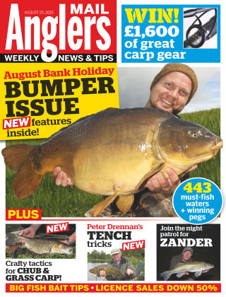 Angler's Mail 25th August 2015