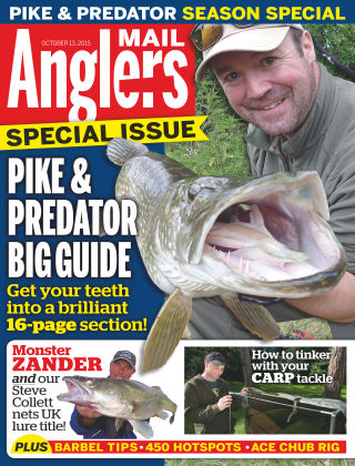 Angler's Mail 13th October 2015