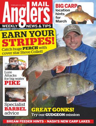 Angler's Mail 23rd February 2016