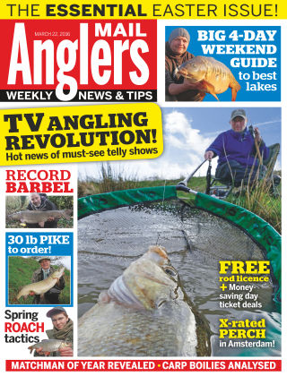 Angler's Mail 22nd March 2016